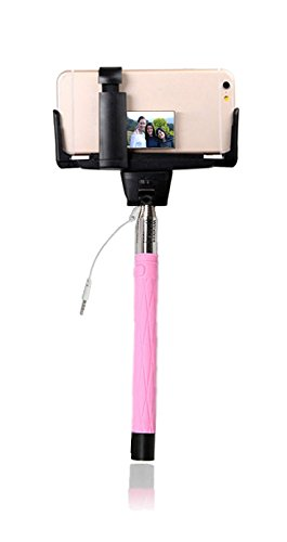 selfie stick by selfie sleuth high definition mirrored selfie kit works seamlessly with wired. Black Bedroom Furniture Sets. Home Design Ideas