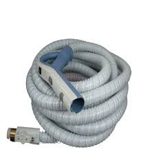White Central Vacuum Cleaner Genuine Style Replacement Hose Designed to Fit Aerus Electrolux 1580, 1590, Lux Centralux Complete with Direct Connect and Pigtail Cord White (Lux Vacuum Hose compare prices)