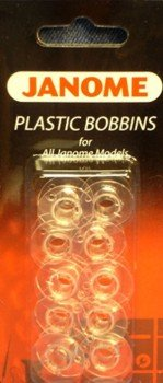 Best Deals! Janome Plastic Bobbins for All Janome Home Use Models