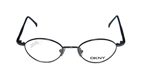 DKNY 6207 Womens/Ladies Rx Ready Inexpensive Designer Full-rim Eyeglasses/Eye Glasses (43-17-130, Shiny Dark Blue) (Rb 3030 compare prices)