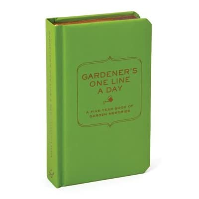 Gardener's One Line a Day Diary