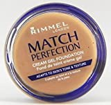 Rimmel match perfection cream gel foundation 300 sand