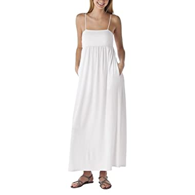 Product Image Mossimo Supply Co. Juniors Cami Maxi Dress - True White