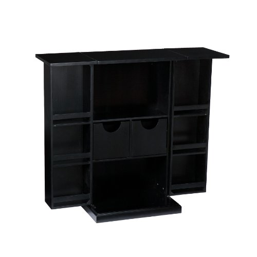 Southern Enterprises Fold Away Black Bar