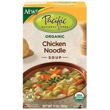 Pacific Natural Foods Chicken Noodle Soup (12X17.6Oz)