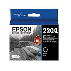 Epson(R) DuraBrite(R) T220XL120-S Ultra High-Yield Black Ink Cartridge