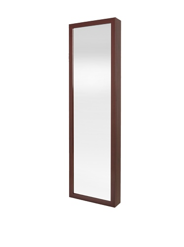 31Op313jdwL Plaza Astoria Wall/Door Mount Jewelry Armoire, Cherry Reviews