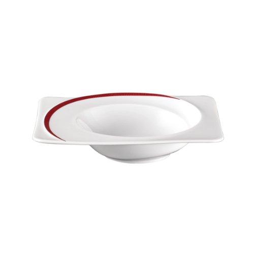 """Bol en porcelaine """"paso bossa nova à motif dimensions: 4 cm x 19,5 x 17 cm"""