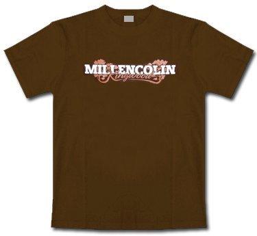 Millencolin * Kingwood Logo * brown * Shirt * XL * Maglietta Originale * LIQUIDAZIONE * ARTICOLO UNICO *