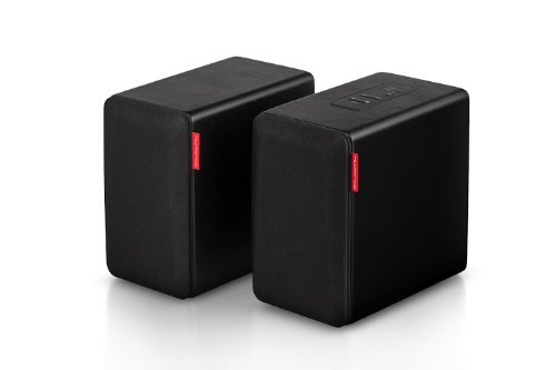 Nuforce S3Bt-Black Cd Quality Bluetooth Wireless Loudspeaker (Black, 2)