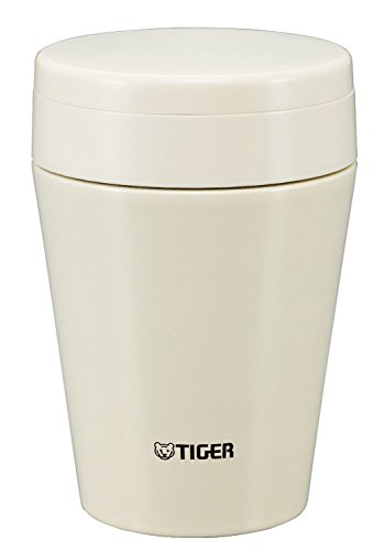 Tiger MCC-C038-CK Stainless Steel Vacuum Insulated Soup Cup, 12-Ounce, Cauliflower White (Tigers Jar compare prices)