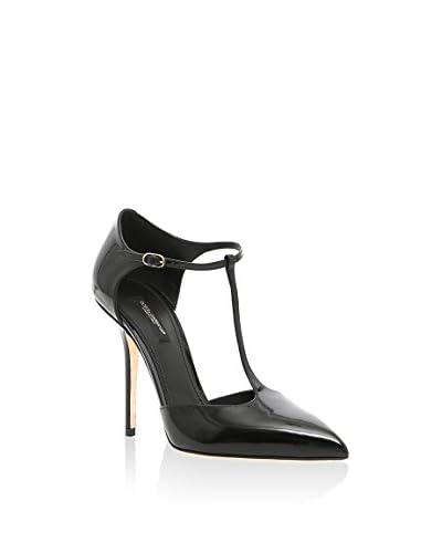 Dolce & Gabbana Sandalette schwarz