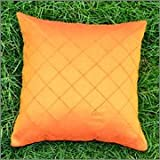 Cushion Casa Cushion Covers (Orange) - B00NMC77EU