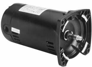 1.5 Hp 3450Rpm 48Y Frame 115/230 Volts Square Flange Pool Pump Replacement Motor Ao Smith Electric M