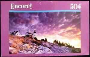 Encore 504 Piece Jigsaw Puzzle, Pemaquid Piont - 1