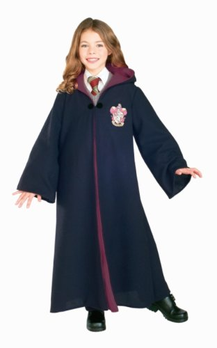 Harry Potter Child's Costume Deluxe Harry Potter Gryffindor Robe, Medium