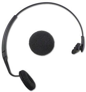 New Plantronics Over The Head Cushioned Uniband Headband For Cs-50 Monaural Leatherette Ear Cushion