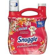 Snuggle Exhilarations Liquid Fabric Softener Sweet Blossom & Wildflowers 96 Fl Oz