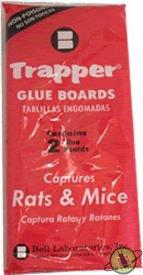 Trapper Rat Glue Boards Traps Rat-6 boards