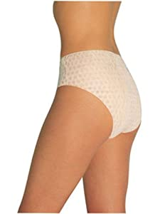 Tigex - Pack de 4 bragas desechables, color blanco en Bebe Hogar
