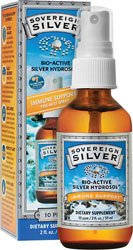 Colloidal Silver Hydrosol (Spray) - 2 fl. oz Liquid