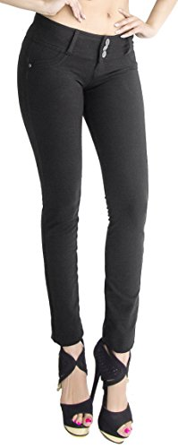 U-Turn #1119 Moleton Butt Lift Skinny Pants – Women's Fashion Jeans