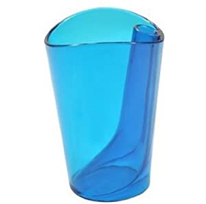 Amazon.com - *Blue Flip cup dual purpose bathroom tumbler colorful