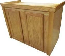 R&J Enterprises ARJ40160 Xtreme Series Oak Wood Aquarium Cabinet Stand, 48 by 24-Inch, Honey