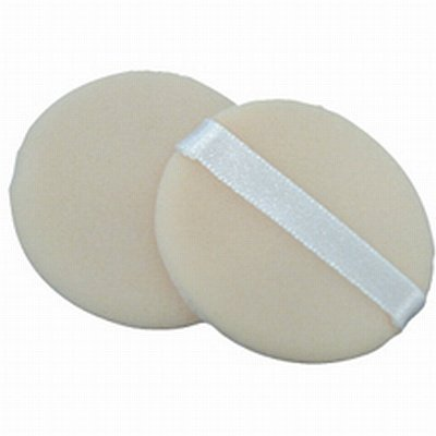 Fantasea 2 Piece Cotton Cosmetic Powder Puff (Pack of 6)