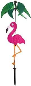 In the Breeze Flamingo Spinner Top Garden Spinner