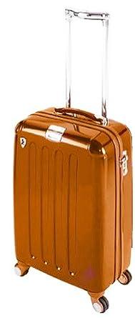 """Heys Crown L Elite 22"""" Hardside Carry-On Spinner CR718-22-BLACK (Orange)"""