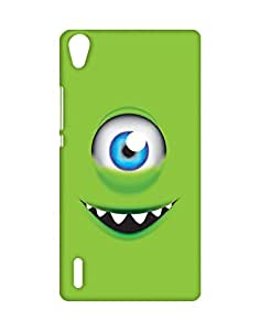 Mobifry Back case cover for Huawei Ascend P7 Mobile ( Printed design)