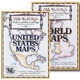 Olde World Style Maps Combo-Pak on CD-ROM