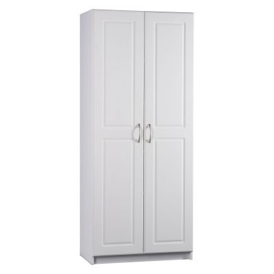 Cheap Price Ameriwood 7344015y Deluxe Storage Cabinet 30 Inch Wide White Kitchen Pantry Cabinet