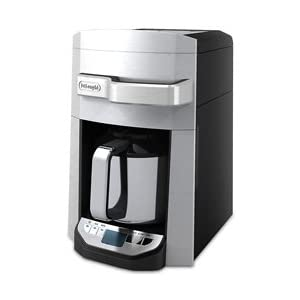 DeLonghi DCF6212TTC Programmable Front Fill Drip Coffee Maker, 12 Cup (Silver): Amazon.ca: Home ...
