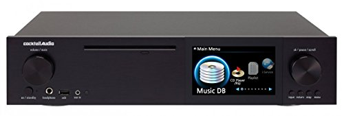 Cocktail Audio X40 Black DSD HD Hi-Res Music Server/ CD Ripper/ 32bit DAC/ Streamer (Flac Streamer compare prices)