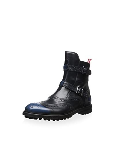 Dino Bigioni Men's Strap and Buckle Boot
