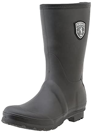Kamik Women's Jenny Rain Boot,Black,10 M US