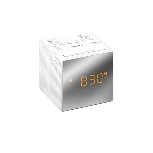 sony-icf-c1t-fm-am-dual-alarm-clock-radio-with-mirror-finish-white