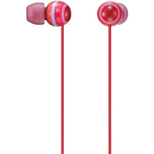 Sony MDREX40LP/RED In-Ear Headphones (Discontinued by Manufacturer)