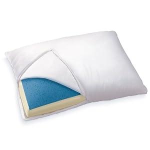 Sleep Innovations Reversible Gel Memory Foam Pillow