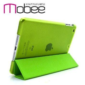 mobee iPad mini Retina 専用 スマートカバー 一体型 薄型 シェルケース グリーン Green マルチアングル オートスリープ機能 ipad mini retina smart cover case