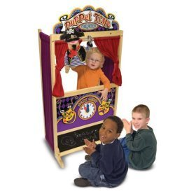Melissa And Doug Deluxe Puppet Theater by MELISSA & DOUG