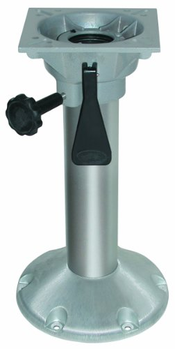 Wise Fixed Height Seat Pedestal, Aluminum, 6-Inch