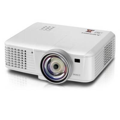 Mitsubishi EX321U-ST 3D Ready DLP Projector HDTV 1024×768 XGA 2700:1 3000 lumens 4:3 HDMI VGA Ethernet Speaker