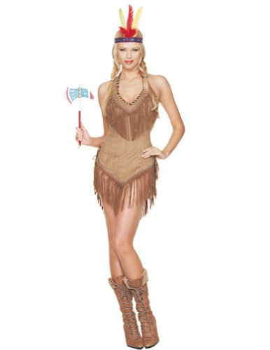 adult costumes - Indian Girl Small-Medium