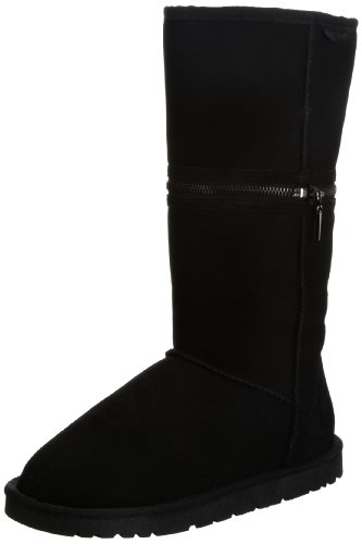 Redfoot Women's Zippyboot Black Pull On Boot B09-02012-06L 6 UK