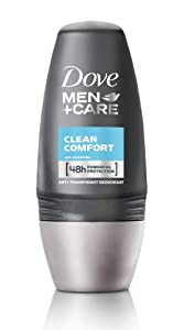 Dove Men+Care Deo Roll-on Clean Comfort, 3er Pack (3 x 50 ml)