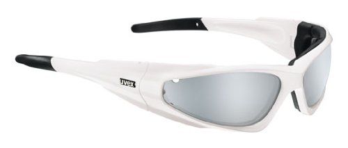 uvex snowsun, white shiny/ mirror