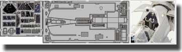 Intérieur de Arado Ar 196A-3 (auto-adhésif) (pour les maquettes Revell)